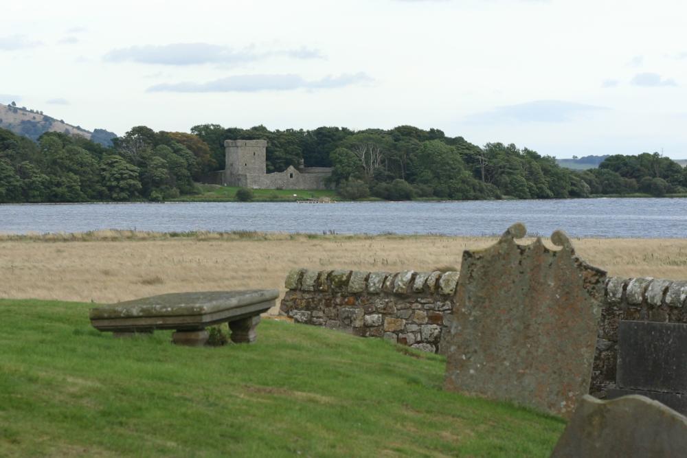 Island Loch Leven Loch Leven Castle on an Island